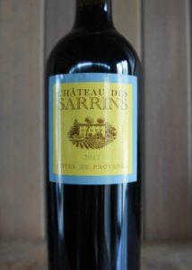 Sarrins 2012 Cote de Provence